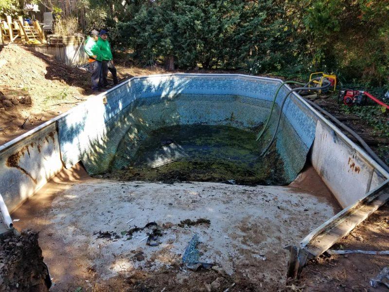 Pool Demolition